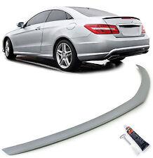Heckspoiler Spoilerlippe Sport Optik für Mercedes E Coupe C207 Cabrio A207 ab 10
