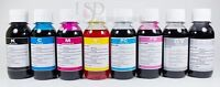 8x100ml refill ink for Canon PIXMA PRO-100 printer