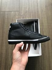 Nike CDG Blazer High Black Size 4