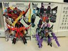 Transformers IDW Armada Starscream & Skywarp Complete w/ Comics