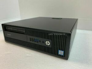 HP Desktop PC EliteDesk 800 G2 SFF i5 i7 6th Gen 8GB 32GB 500GB HDD 240GB SSD