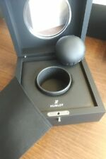 HUBLOT WATCH BOX AND OUTER GLASS VIEWING WINDOW