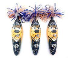 NHL Nashville Predators 3 Pack Kooky Kollectible Pen Clip Authentic Serie 1 Key
