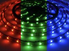LED Stripe RGB mehrfarbig ≈ 5m ≈ 24V ≈ IP65 ≈ Dimmbar ≈ SMD 5050 Streifen Band