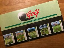 QE2 GB 1994 PP estampillada sin montar o nunca montada GOLF ST ANDREWS Muirfield Carnoustie Royal Troon Turnberry