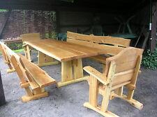 Gartenmöbel, Sitzgruppe, Eiche, 3 m