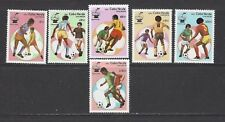CAPE VERDE 446 - 451 + 452 S/S - MNH - 1982 - WORLD CUP