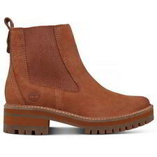 Timberland Courmayeur Valley Chelsea Rust Earthybuck 7.5 Wide