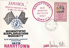More details for jamaica 1973 nannytown blue mountains expedition cover signed unaddressed vgc
