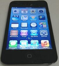 Apple iPod Touch 4th Generation Black 8 GB Cracked Screen