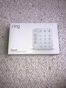 RING Alarm 2nd Generation WiFi Alexa Z Wave Mountable Keypad White 4AK1SZ-0EN0