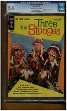 THREE STOOGES #20 CGC 9.4 NEAR MINT GOLD KES COMICS 1964 OFF WHITE TO WHITE PAGE