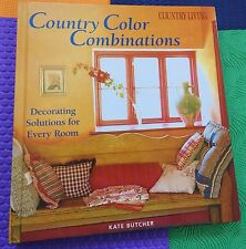 INTERIOR DESIGN Country Color Combinations Decorating Solutions fr Every Room HB
