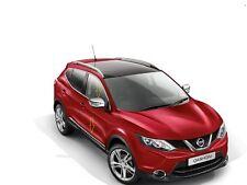 Original Nuevo Nissan Qashqai 2014 Estilo Pack Ice Chrome Puerta travesaños & Espejo Tapas