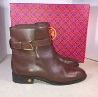 Tory Burch Womens Brooke Perfect Brown Ankle Boots Size 7.5 (686350)