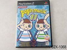 Pop'n Music 11 Playstation 2 Japanese Import Japan JP PS2 Bemani US Seller B