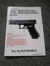 GLOCK Instructions for Use Manual for GLOCK ALL MODELS 1999 ORIGINAL