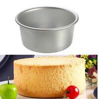 "Bake mold 2"" 4"" 6"" 8"" 10"" 12"" Aluminum Alloy Round Cake Pan Bakewar Kitchen Tool"