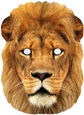 Adulto León Big Cat Jungla Animal Salvaje carnaval disfraz máscara