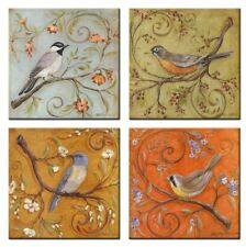 [Framed] Lively Birds Animals Giclee Wall Art Painting Prints Canvas Home Decor