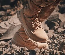 """NIKE SFB SPECIAL FIELD 8"""" LEATHER BOOTS-NO BOX LID- SZ: 10.5 MEN'S (688974 220)"""