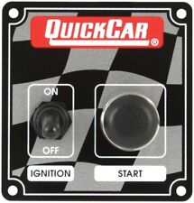 QuickCar Racing Ignition Control Panel Dirt Drag Starter Button Igintion Switch