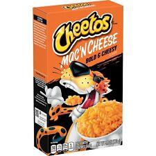 Cheetos Mac 'N Cheese, Bold & Cheesy, 5.9 oz Box Mac and cheese