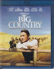 THE BIG COUNTRY BLU-RAY (N3)