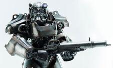 "ThreeZero Fallout 4 Power Armor T-60 1/6 Scale Figure Statue Sideshow 14.5"" Tall"