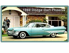 1960 Dodge Dart Phoenix  Auto Refrigerator / Tool Box Magnet Man cave Item
