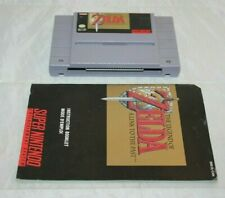 The Legend of Zelda: A Link to the Past (Super Nintendo) Game and Manual Only