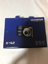 NIB olympus x-42 digital camera red 2.7 lcd 5x opiticl zoom 12 mega pixels