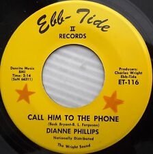 DIANNE PHILLIPS 45 call him to the phone My guy 1968 Female COUNTRY rocker  jr71