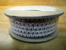 Plastic Extruded Parts 411864 Wire Marker FS-4 #4 (Pack of 1000)
