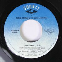 Soul 45 Chuck Brown & The Soul Searchers - Game Seven (Part 1) / Game Seven (Par