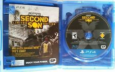 Infamous: Second Son Limited Edition PlayStation 4 PS4 USED (AD)
