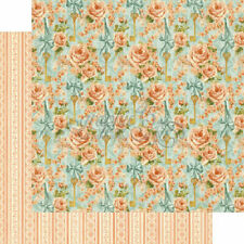 Graphic 45 2 sheets, Secret Garden Collection, coming up roses 12 x 12 papers