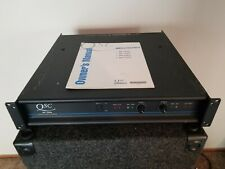 QSC MX1500A 2 Channel Professional Stereo Power Amplifier Bridgeable With Manual