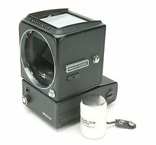 Hasselblad 500EL/M Motorized Camera Body With 9v Battery Adapter. Ex. Clean.