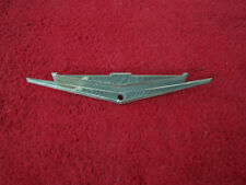 Used 62-63 Ford Galaxie 500 XL & Hardtop Rear Package Tray Emblem