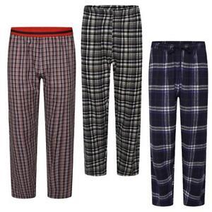 Men Women Pyjamas Lounge Pants Ladies Cotton Summer Nightwear Checked Bottom Pj