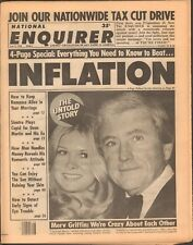 1978 National Enquirer Jul 11 Merv Griffin Sinatra Beat Inflation FREE SHIPPING