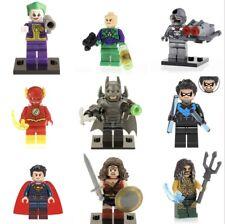 DC Super Hero Lego + Custom Minifigures mini figure Justice League Batman Joker