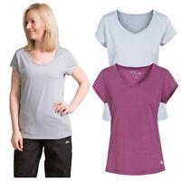 Trespass Womens T-Shirt Short Sleeve Female Active Gym Top Mirren