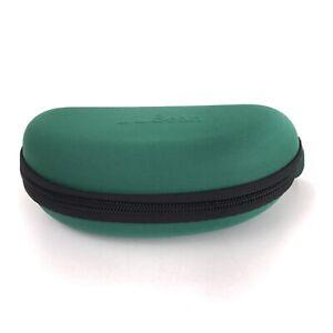 L.L. Bean Zippered Sunglasses Eyewear Case Storage Green spt0