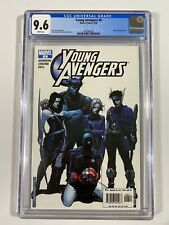 Young Avengers #6 CGC 9.6 1st Cassie Lang As Stature -2005 🔑 🔥 🚨