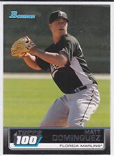 Matt Dominguez Houston Astros 2011 Bowman Insert Topps 100