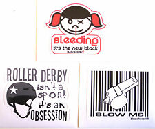 DERBY STICKER PACK #6  ***KIT OUT THE BEER FRIDGE!***