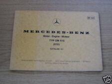 Teilekatalog Mercedes OM 615