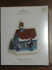 Hallmark Keepsake Ornament Chapel in the Woods #10 Church Candlelight Services